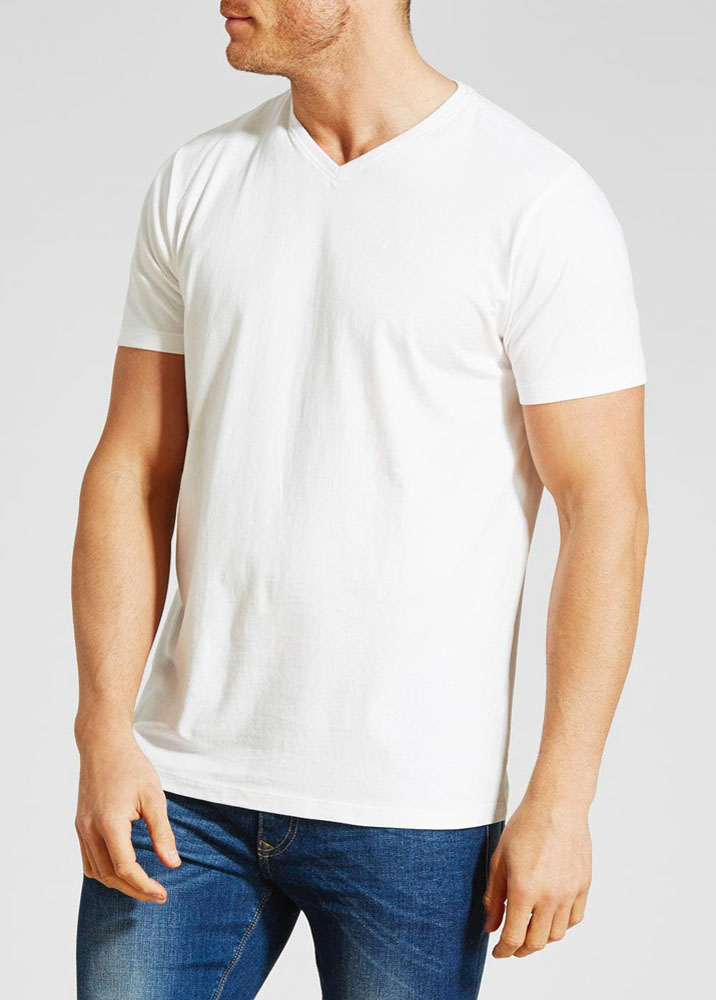 FRUIT OF THE LOOM ORIGINAL V-NECK T