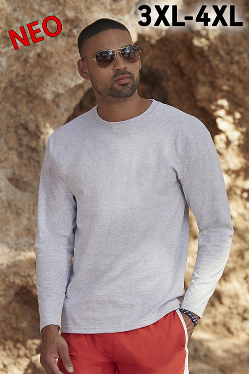 61-038-0 Valueweight Long Sleeve T FRUIT OF THE LOOM ΜΑΚΡΥΜΑΝΙΚΟ T-SHIRT