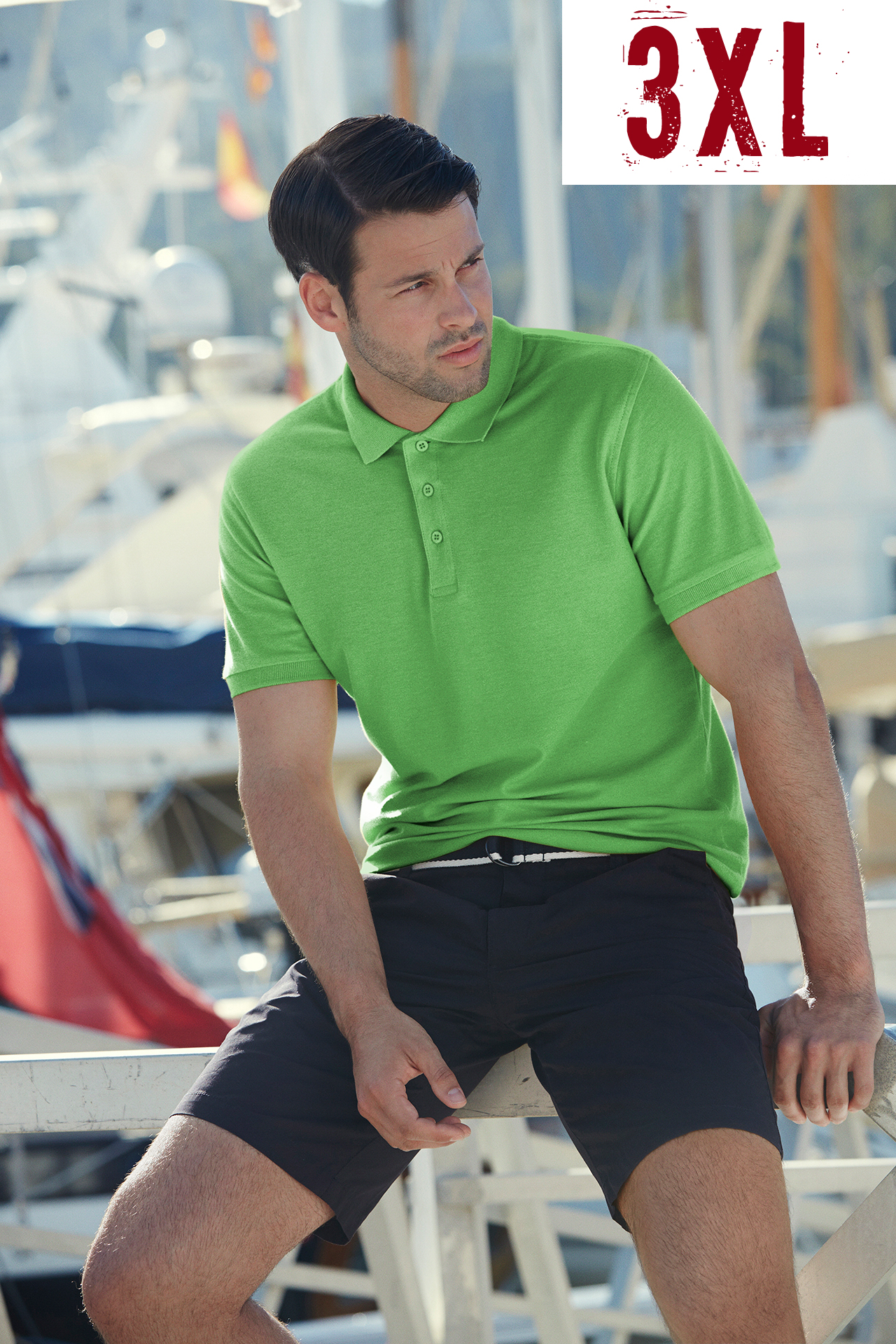 FRUIT OF THE LOOM premium polo 3XL