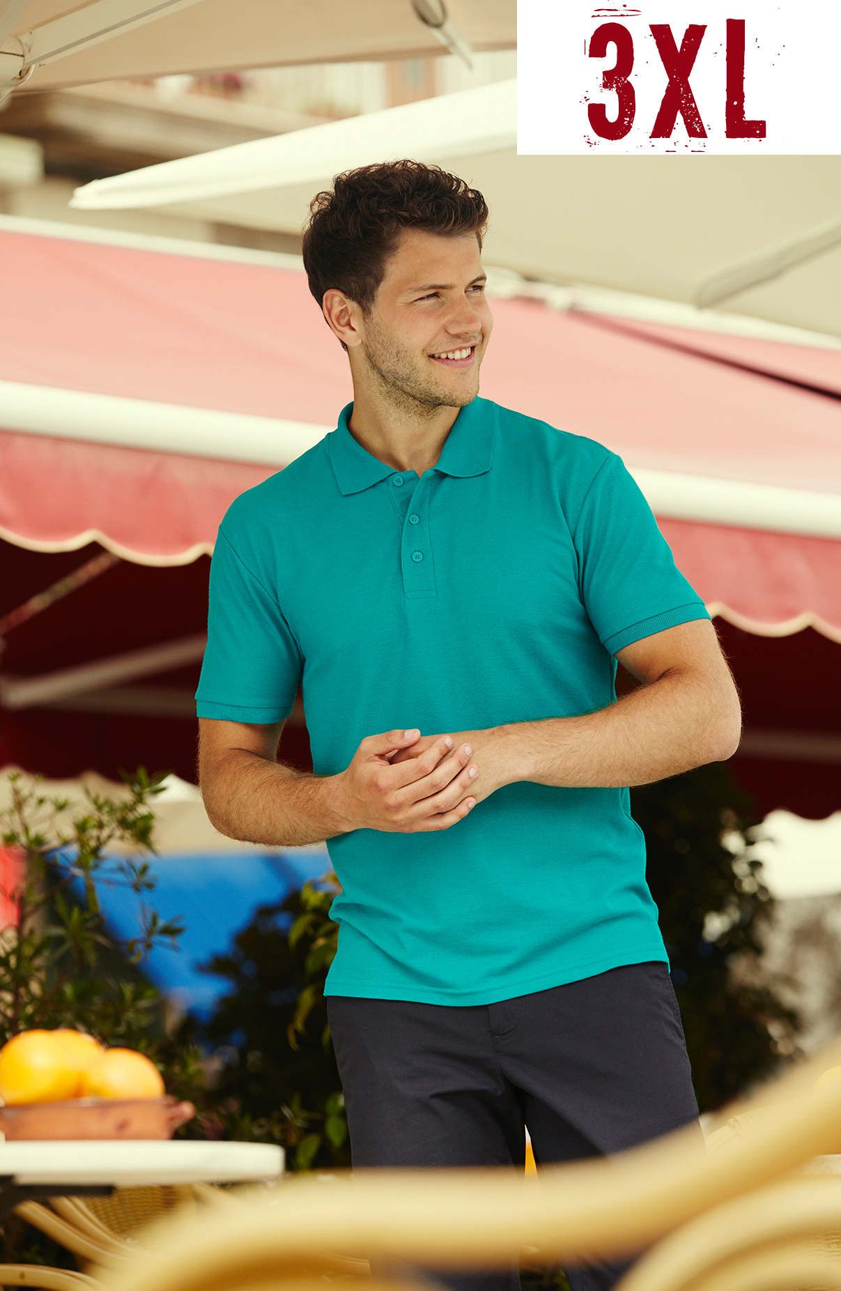 Fruit Of The Loom Polo 65/35 3XL