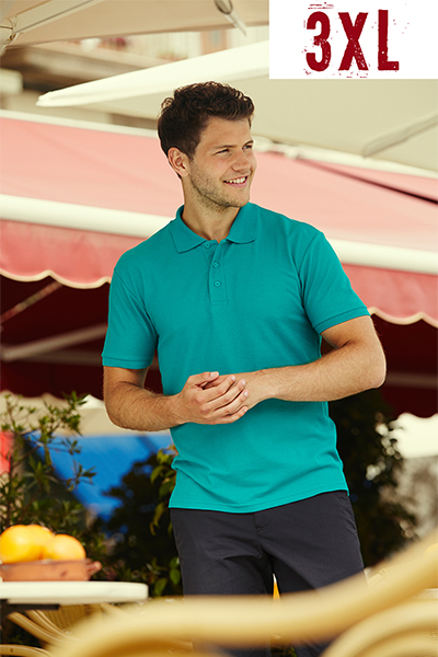 Fruit Of The Loom Polo 65/35 ΣΕ ΜΕΓΕΘΟΣ 3XL