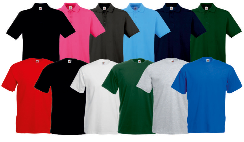 Fruit Of The Loom Polo Premium - T-Shirt