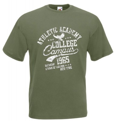 ΛΑΔΙ t-shirt FRUIT OF THE LOOM COLLEGE
