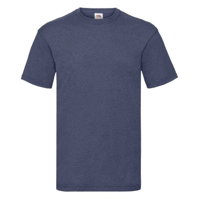 ΜΠΛΕ ΜΕΛΑΝΖΕ FRUIT OF THE LOOM t-shirt valueweight-t 3XL