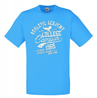 ΤΥΡΚΟΥΑΖ t-shirt FRUIT OF THE LOOM COLLEGE