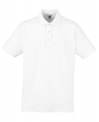 ΛΕΥΚΟ Fruit Of The Loom New Heavy Polo