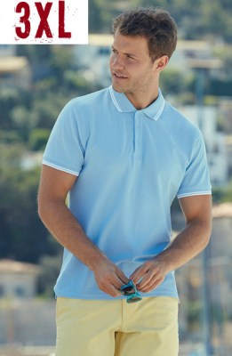 FRUIT OF THE LOOM Polo Premium Tipped 3XL