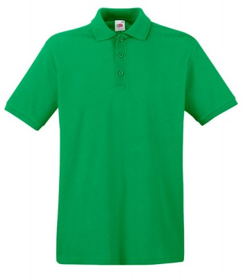 ΠΡΑΣΙΝΟ FRUIT OF THE LOOM premium polo