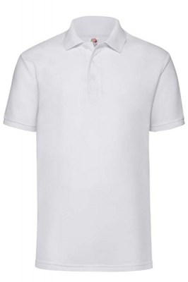 ΛΕΥΚΟ Fruit Of The Loom Polo 65/35 4XL - 5XL