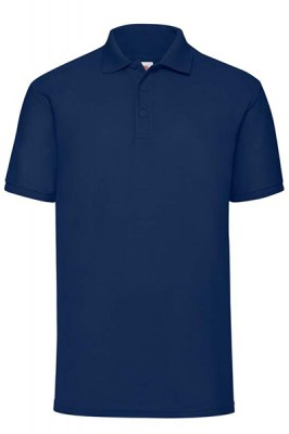 ΜΠΛΕ Fruit Of The Loom Polo 65/35 4XL - 5XL