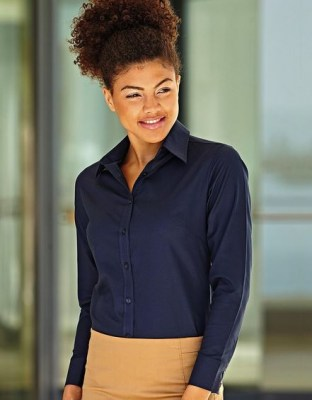 Fruit Of THe Loom LADY LONG SLEEVE OXFORD