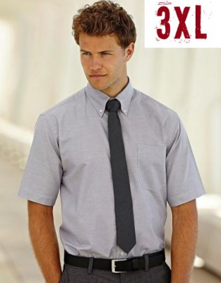 FRUIT OF THE LOOM men short sleeve oxford 3XL