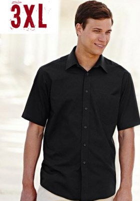 FRUIT OF THE LOOM men short sleeve poplin 3XL